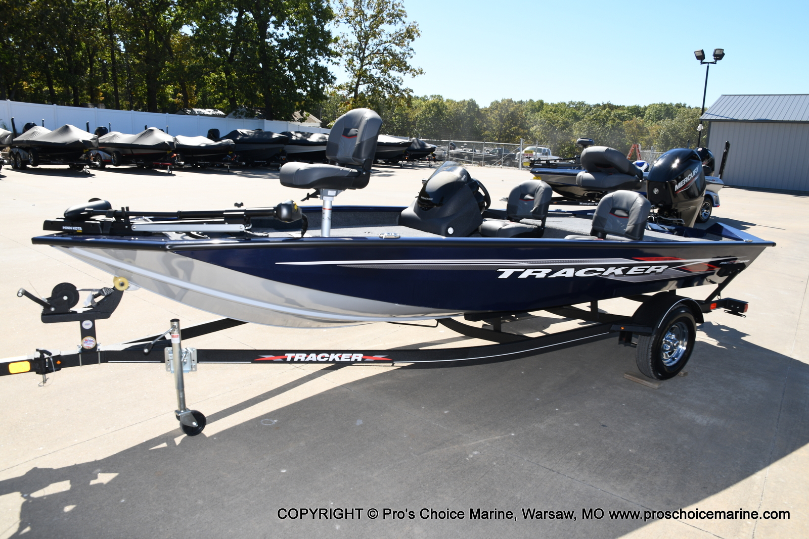 2021 Tracker Boats boat for sale, model of the boat is Pro Team 175 TF & Image # 16 of 50