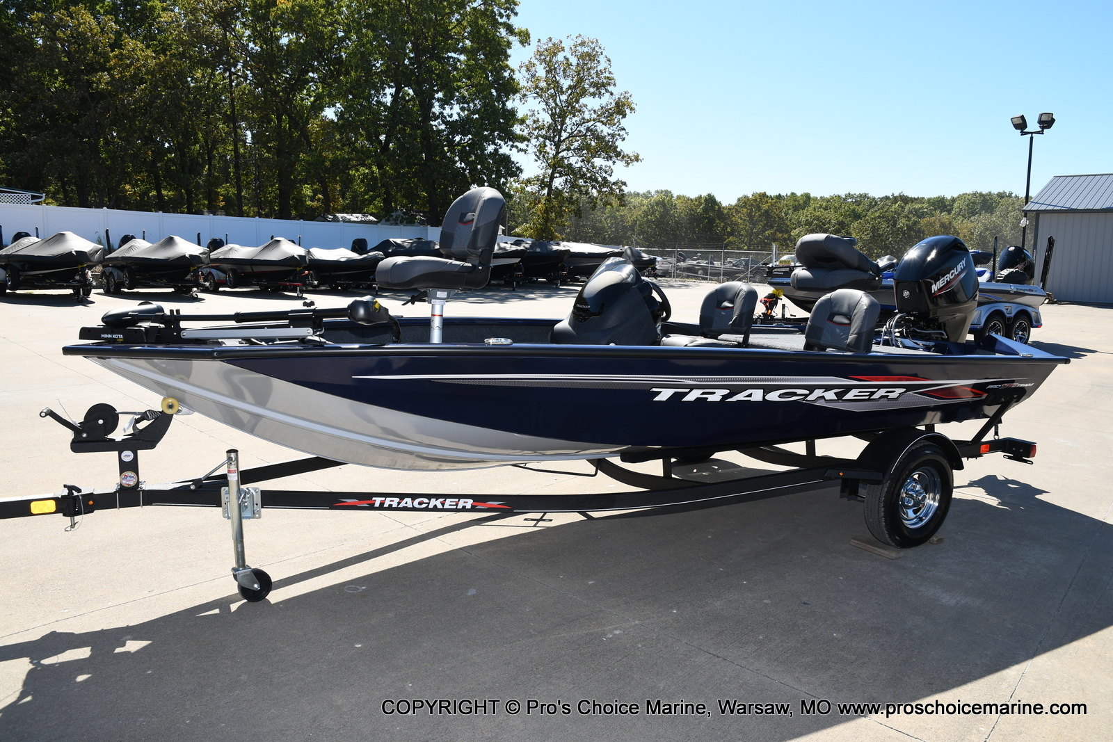 2021 Tracker Boats boat for sale, model of the boat is Pro Team 175 TF & Image # 17 of 50