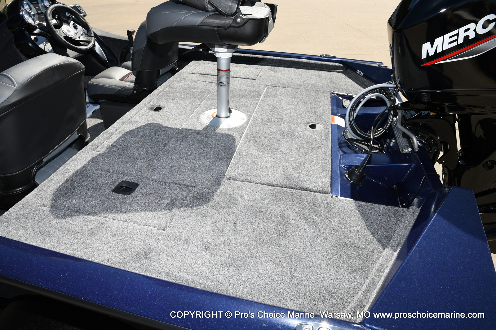 2021 Tracker Boats boat for sale, model of the boat is Pro Team 175 TF & Image # 21 of 50