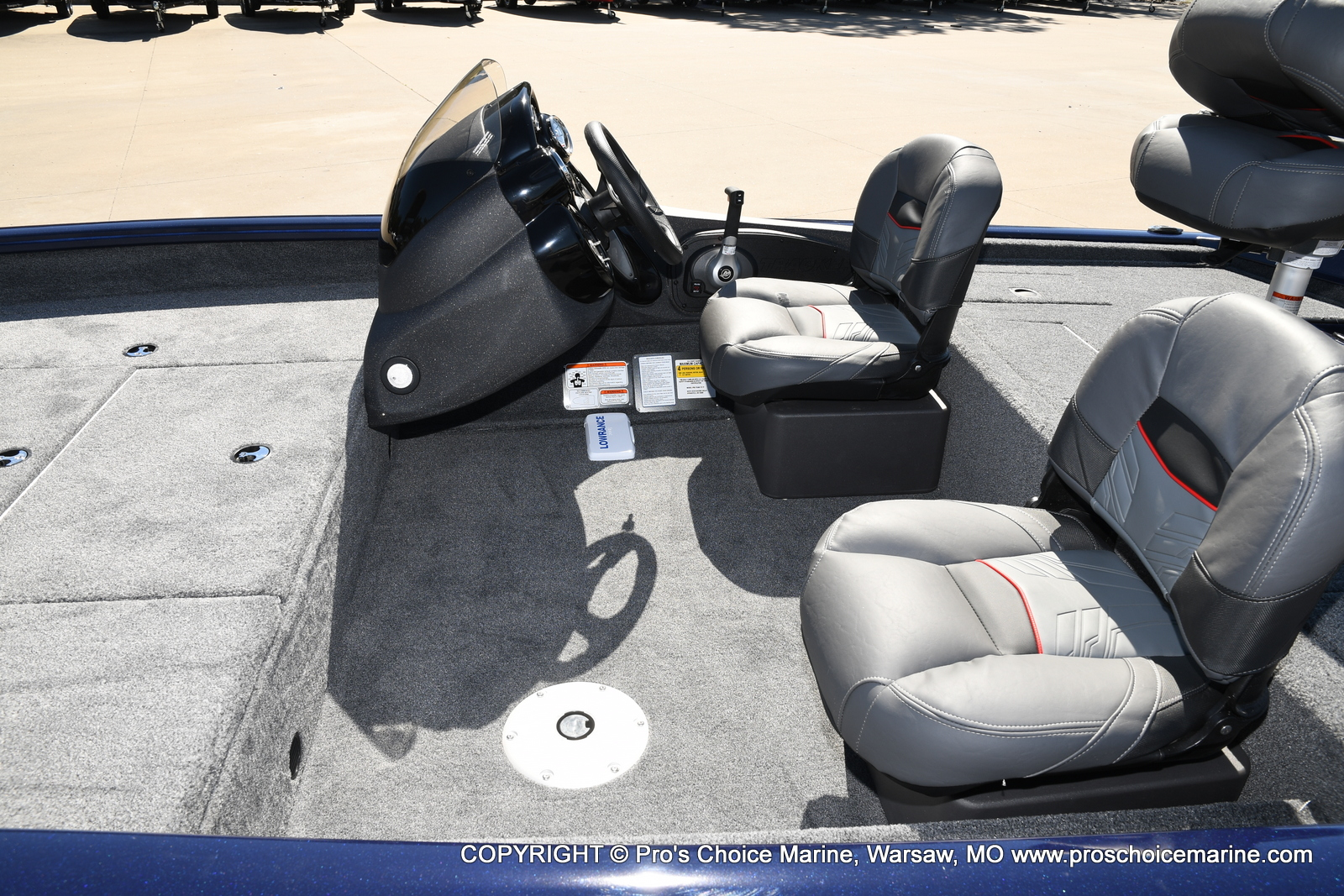 2021 Tracker Boats boat for sale, model of the boat is Pro Team 175 TF & Image # 22 of 50