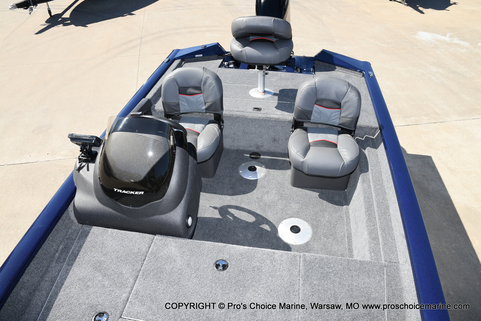 2021 Tracker Boats boat for sale, model of the boat is Pro Team 175 TF & Image # 25 of 50