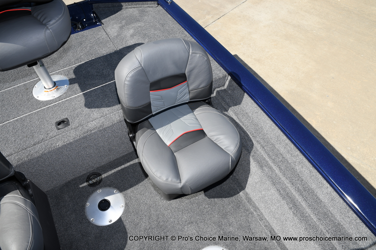 2021 Tracker Boats boat for sale, model of the boat is Pro Team 175 TF & Image # 6 of 50