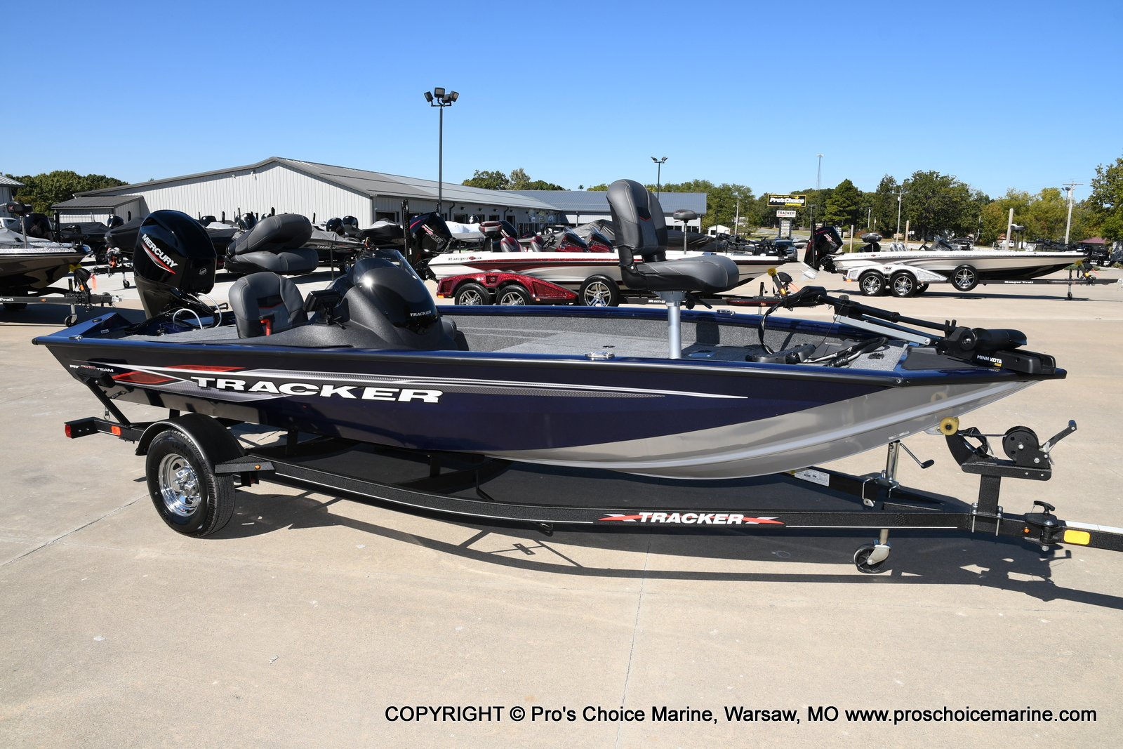 2021 Tracker Boats boat for sale, model of the boat is Pro Team 175 TF & Image # 49 of 50