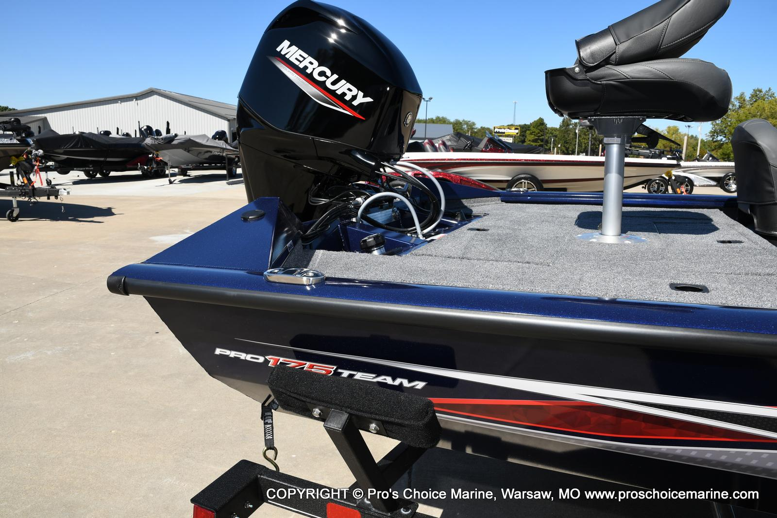 2021 Tracker Boats boat for sale, model of the boat is Pro Team 175 TF & Image # 28 of 50