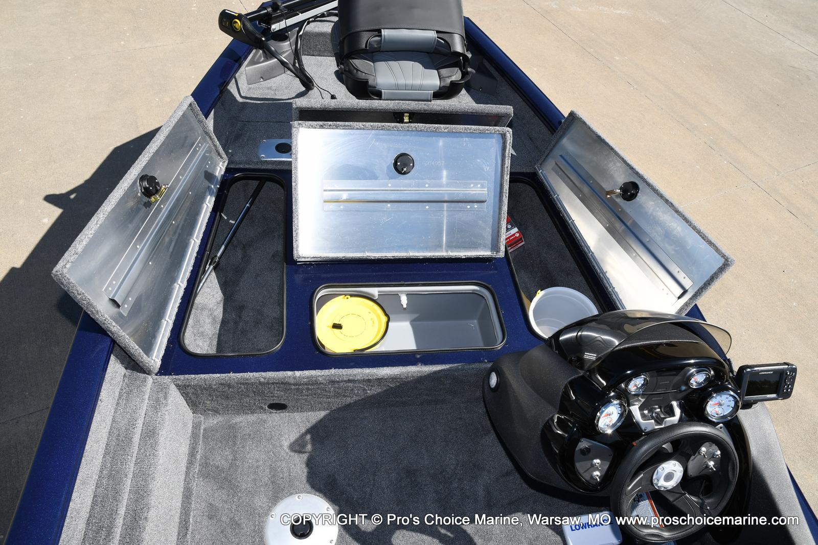 2021 Tracker Boats boat for sale, model of the boat is Pro Team 175 TF & Image # 36 of 50