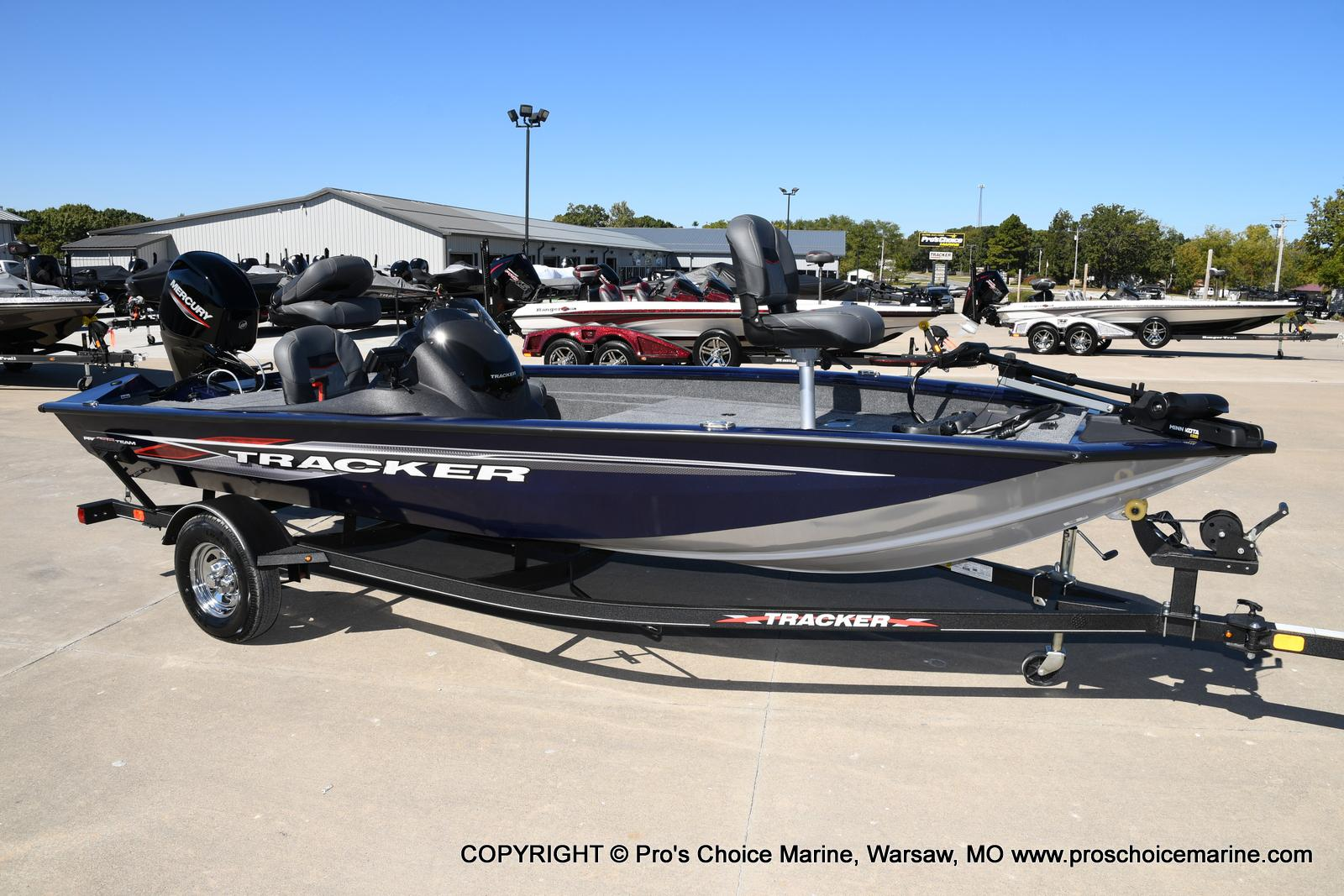 2021 Tracker Boats boat for sale, model of the boat is Pro Team 175 TF & Image # 40 of 50