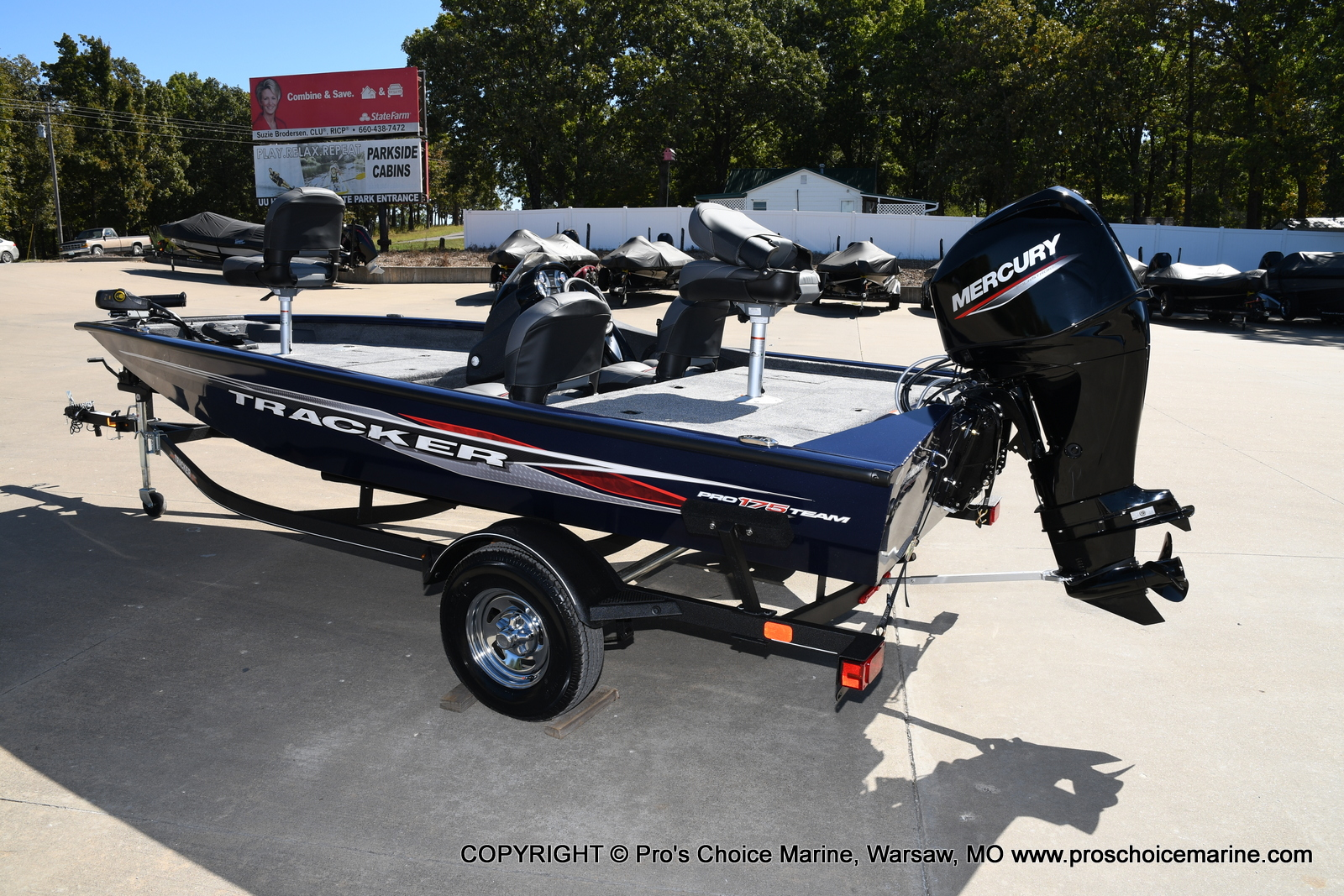 2021 Tracker Boats boat for sale, model of the boat is Pro Team 175 TF & Image # 42 of 50