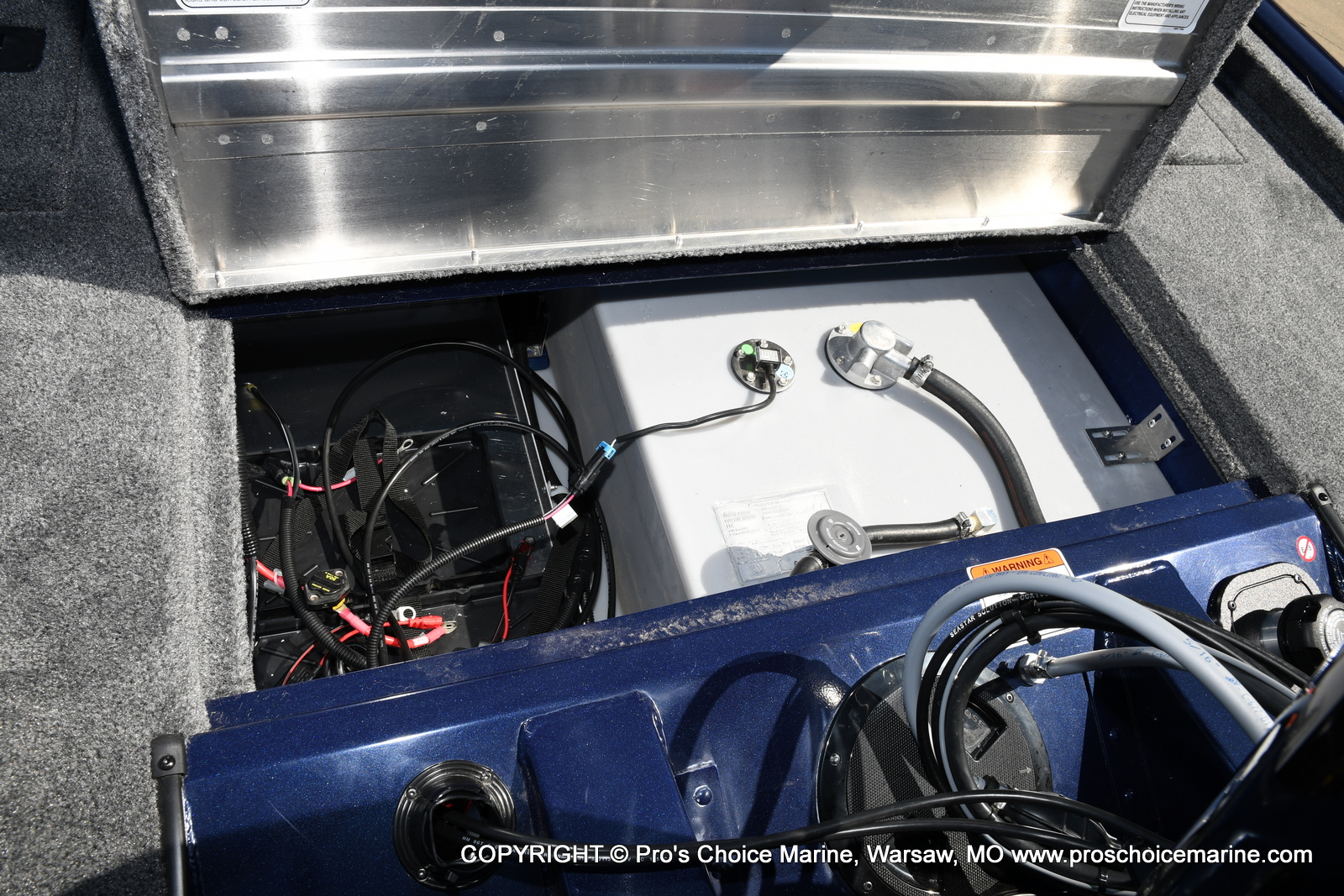 2021 Tracker Boats boat for sale, model of the boat is Pro Team 175 TF & Image # 48 of 50