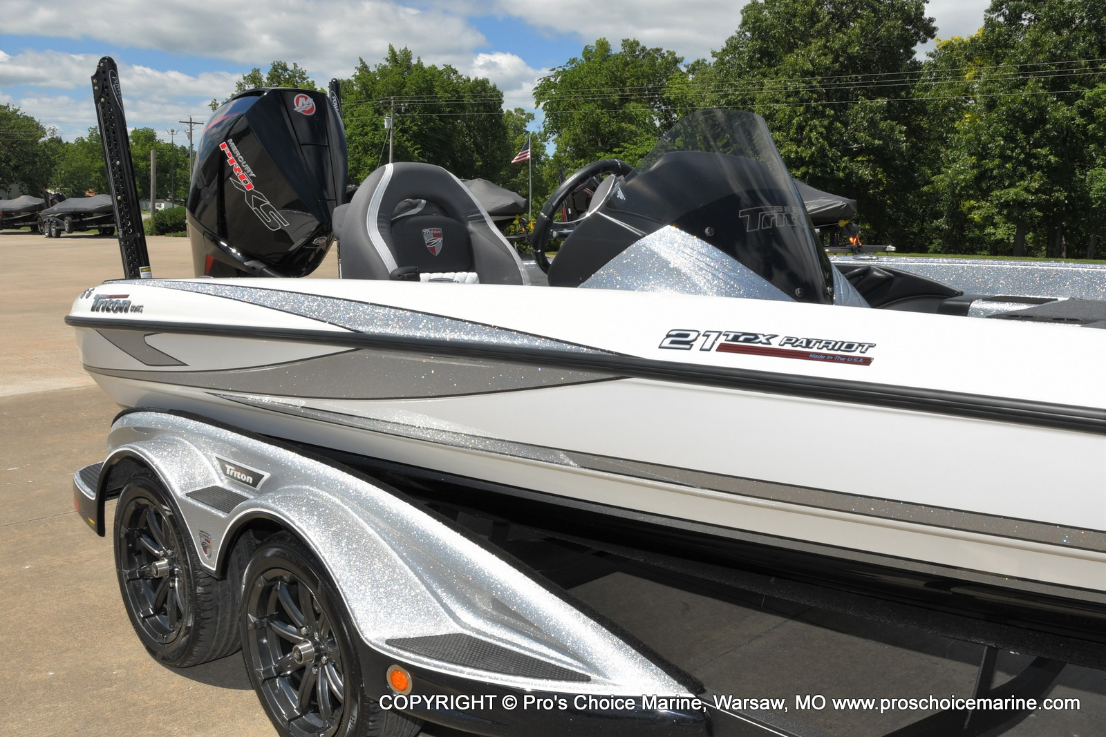 2021 Triton boat for sale, model of the boat is 21 TRX Patriot & Image # 28 of 50
