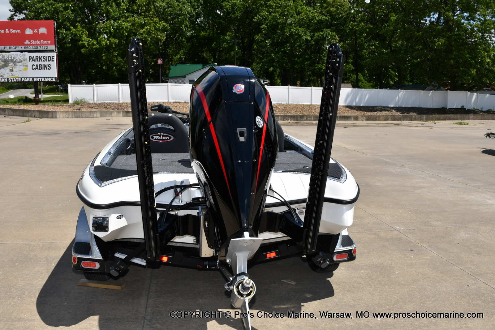2021 Triton boat for sale, model of the boat is 21 TRX Patriot & Image # 30 of 50