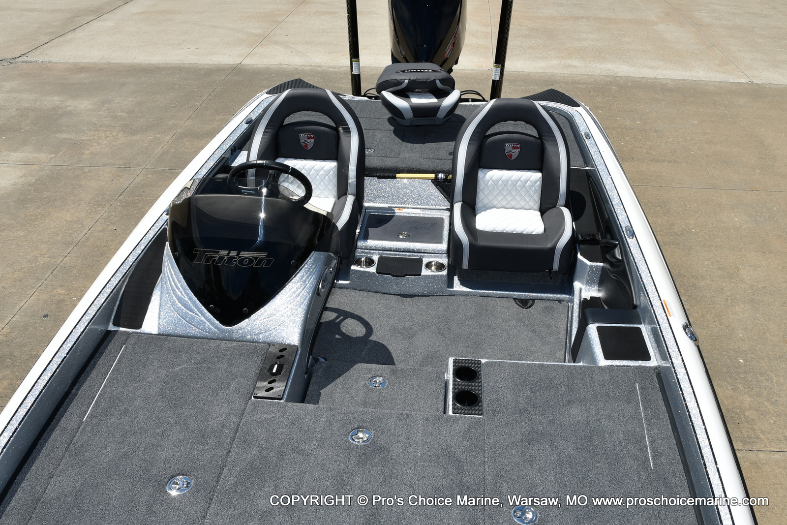2021 Triton boat for sale, model of the boat is 21 TRX Patriot & Image # 44 of 50