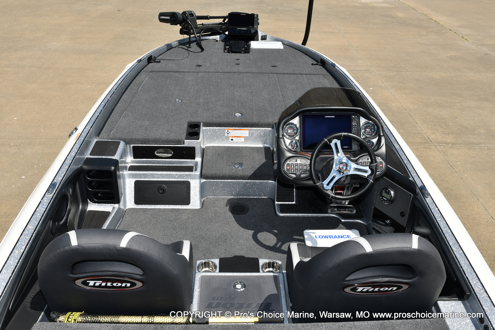 2021 Triton boat for sale, model of the boat is 21 TRX Patriot & Image # 18 of 50