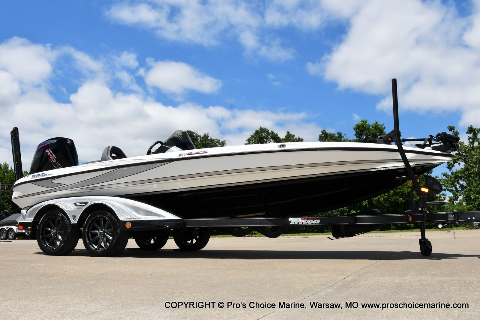 2021 Triton boat for sale, model of the boat is 21 TRX Patriot & Image # 50 of 50