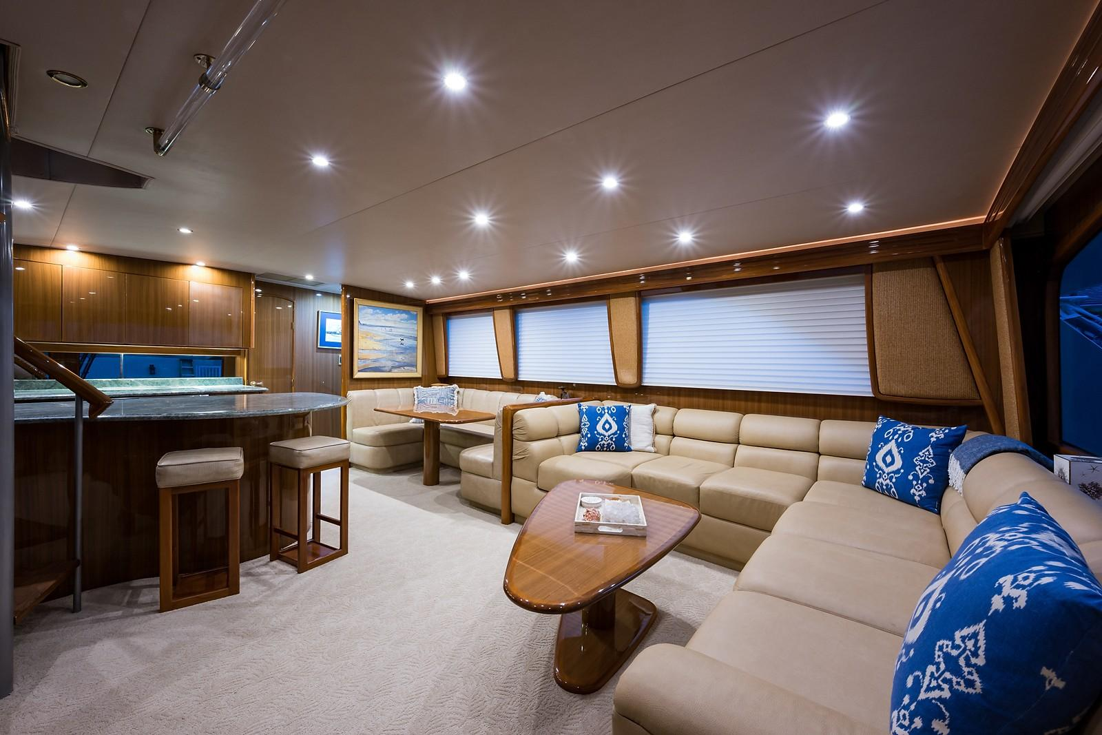 Picture Of:  74' Viking Enclosed 2007Yacht For Sale | 3 of 60