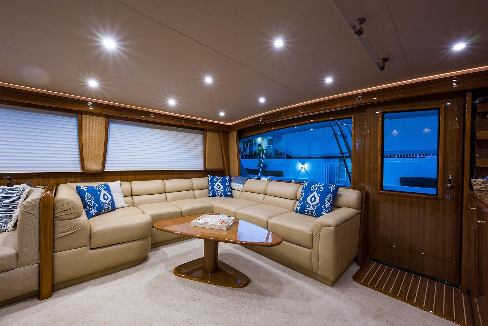 Picture Of:  74' Viking Enclosed 2007Yacht For Sale | 4 of 60