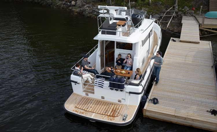 Sargo 36 Fly aerial view