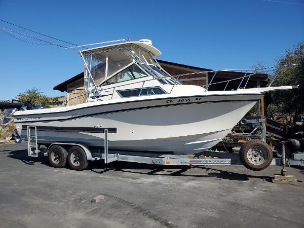 1991 Grady-White 25 Sail Fish