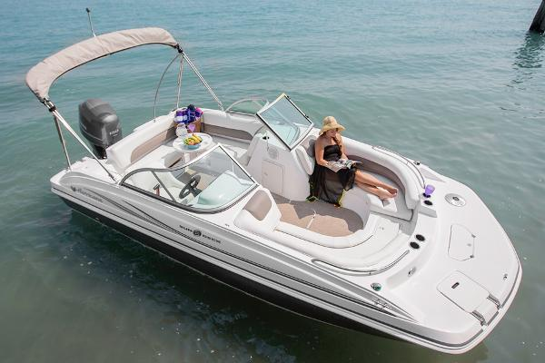 2014 Hurricane boat for sale, model of the boat is SunDeck 187 OB & Image # 3 of 12