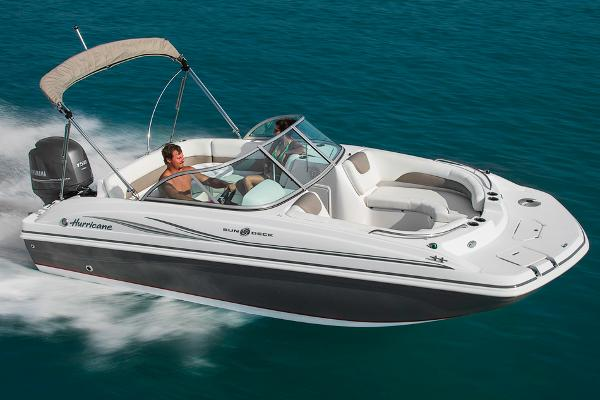2014 Hurricane boat for sale, model of the boat is SunDeck 187 OB & Image # 1 of 12