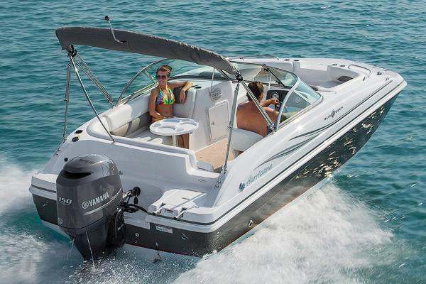 2014 Hurricane boat for sale, model of the boat is SunDeck 187 OB & Image # 4 of 12