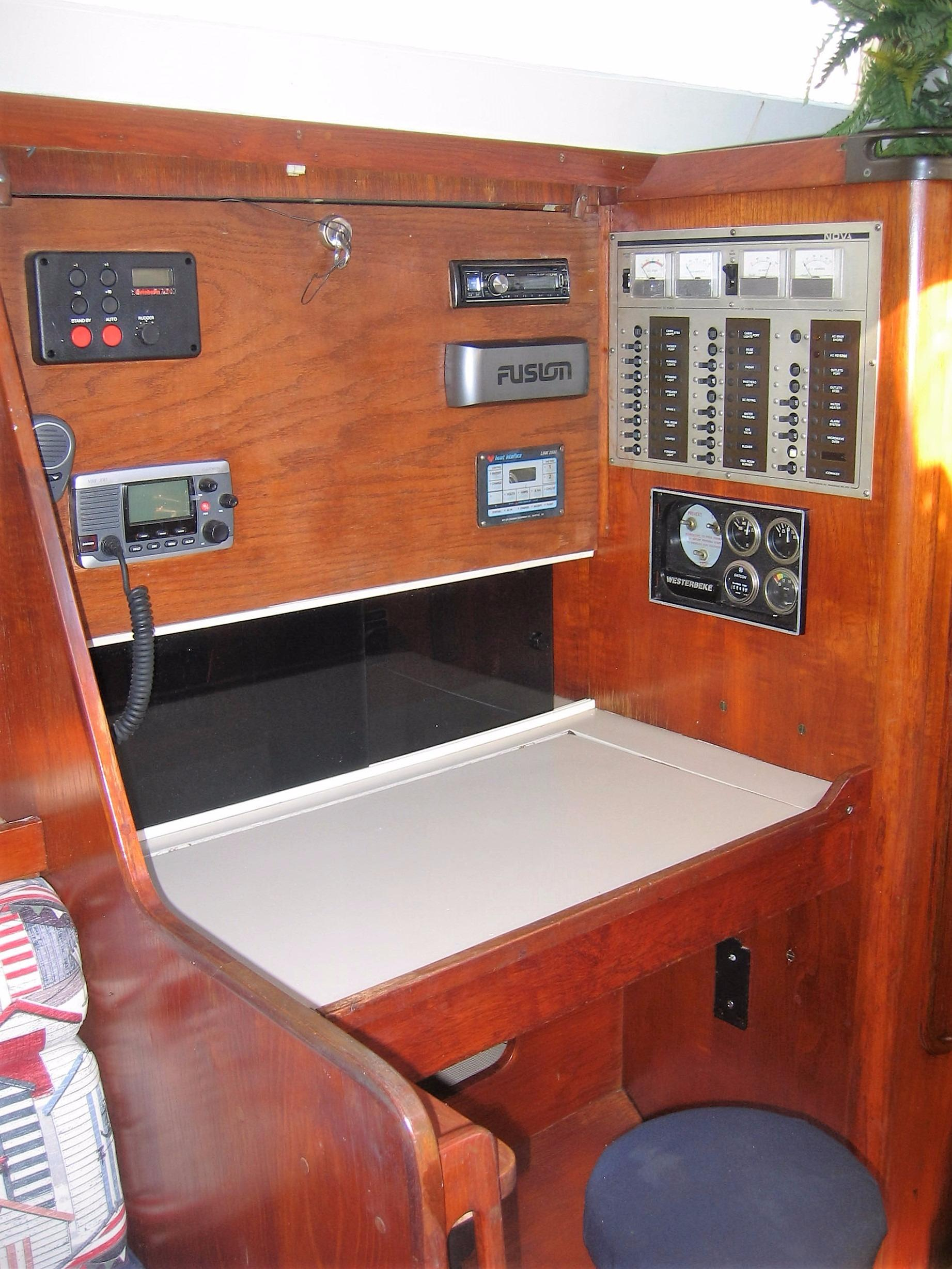 Nav Station & Electric Panel