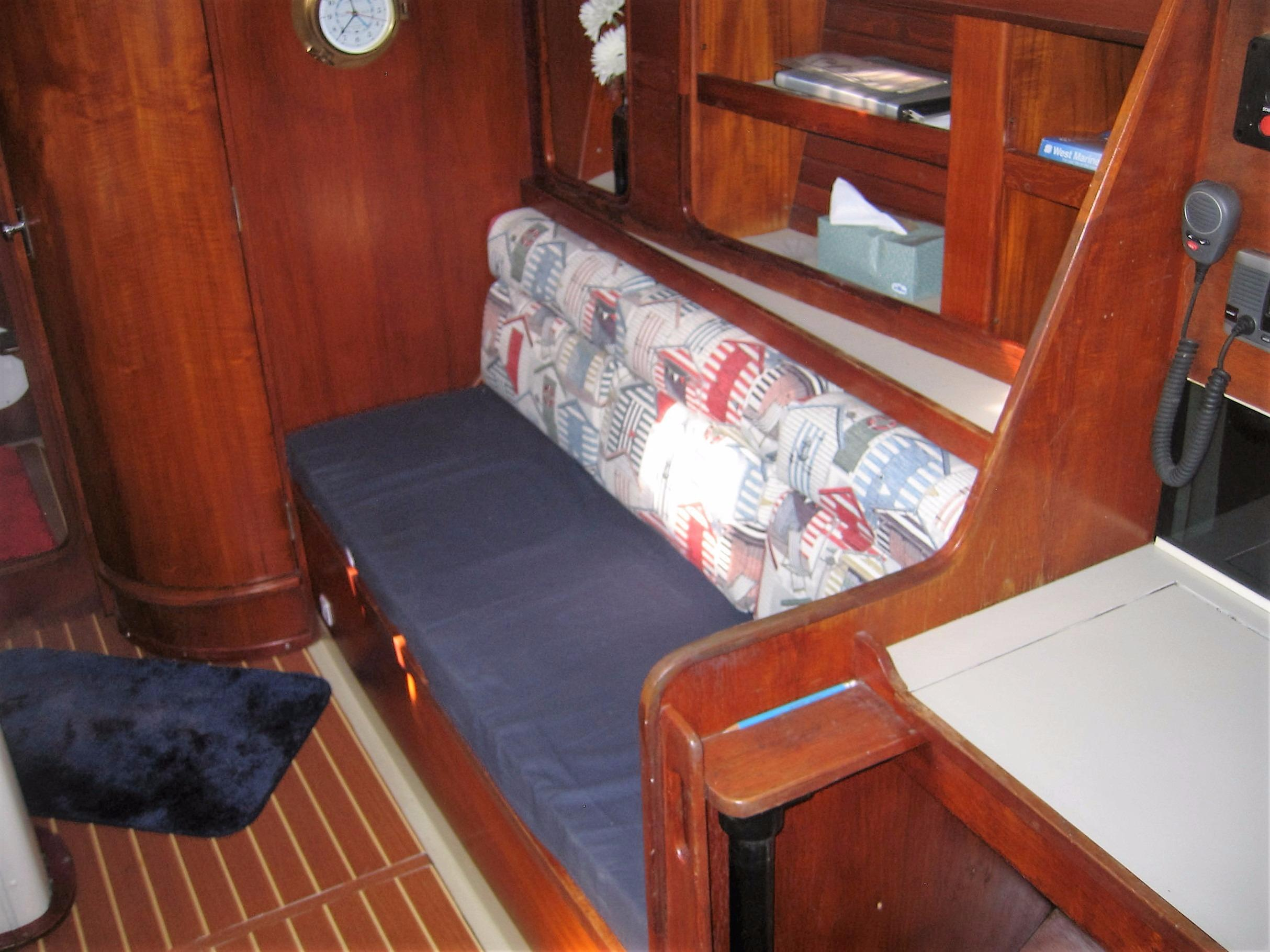 Looking at Starboard Side of Saloon