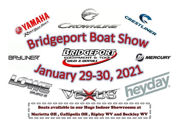 2021 Crestliner Bridgeport Boat Show