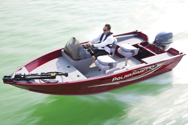 2014 Polar Kraft boat for sale, model of the boat is Classic 156 SC & Image # 2 of 8