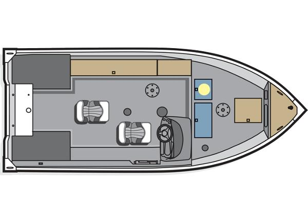 2014 Polar Kraft boat for sale, model of the boat is Classic 156 SC & Image # 8 of 8