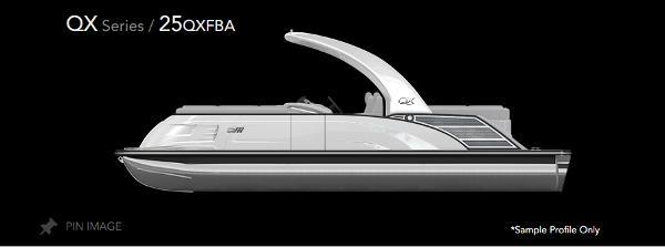 2021 Bennington 25 QXFBA