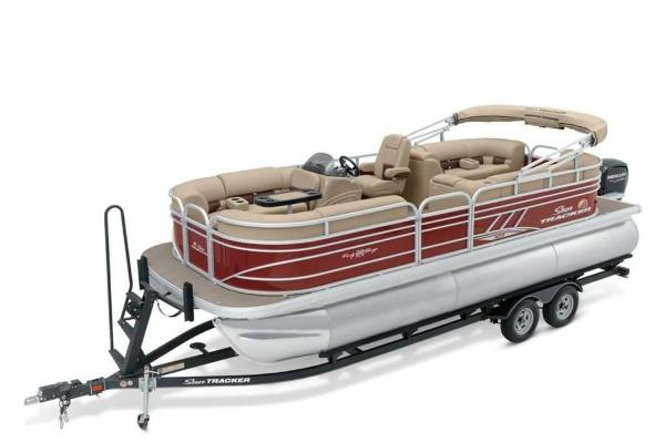 2021 Sun Tracker boat for sale, model of the boat is PARTY BARGE® 22 XP3 & Image # 1 of 30