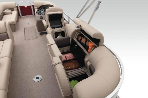 2021 Sun Tracker boat for sale, model of the boat is PARTY BARGE® 22 XP3 & Image # 11 of 30