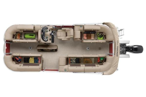 2021 Sun Tracker boat for sale, model of the boat is PARTY BARGE® 22 XP3 & Image # 20 of 30