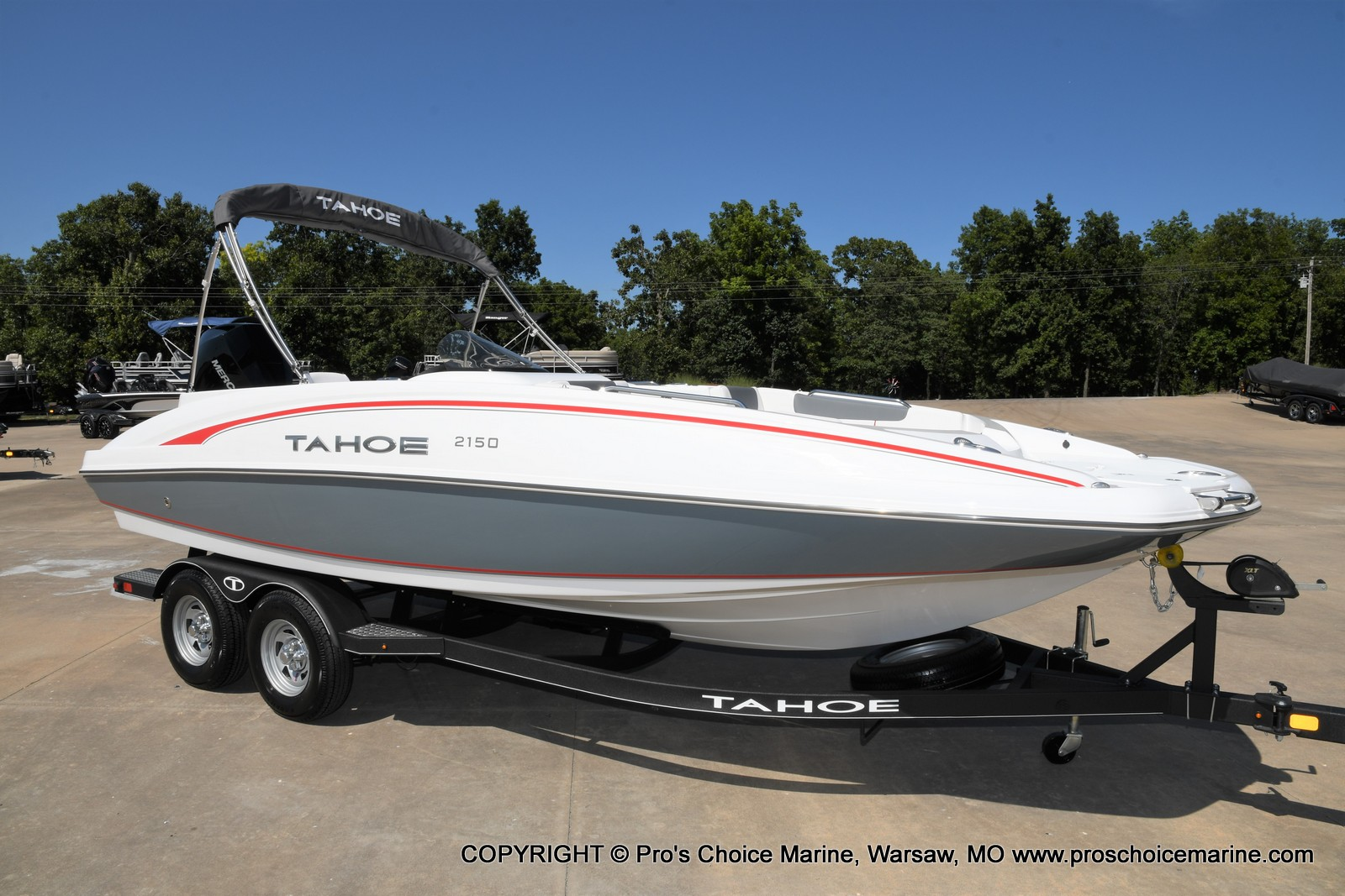 2021 Tahoe boat for sale, model of the boat is 2150 & Image # 45 of 50