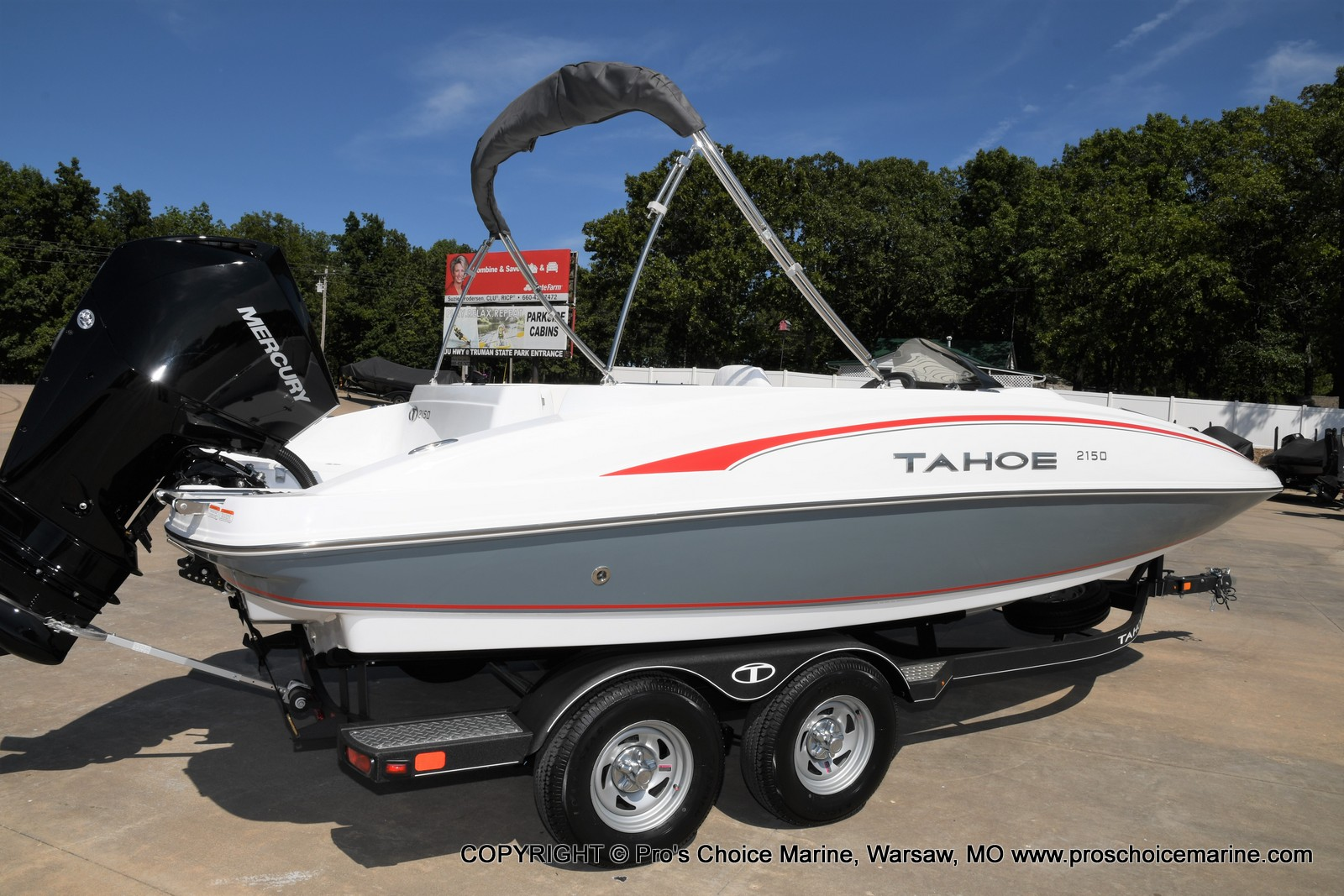 2021 Tahoe boat for sale, model of the boat is 2150 & Image # 46 of 50