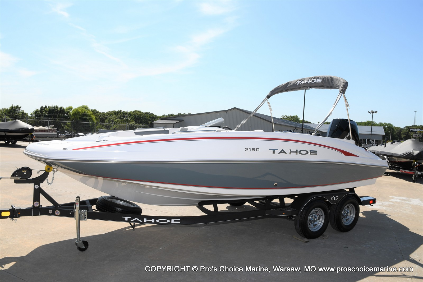2021 Tahoe boat for sale, model of the boat is 2150 & Image # 16 of 50