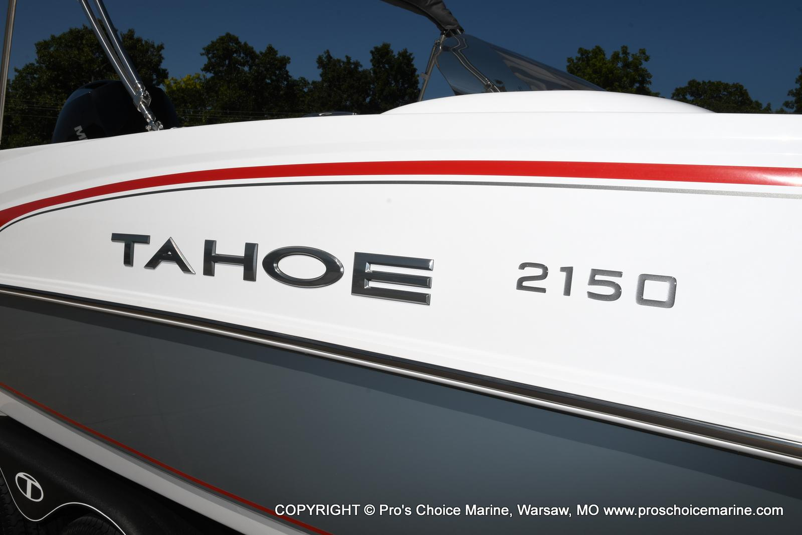 2021 Tahoe boat for sale, model of the boat is 2150 & Image # 35 of 50