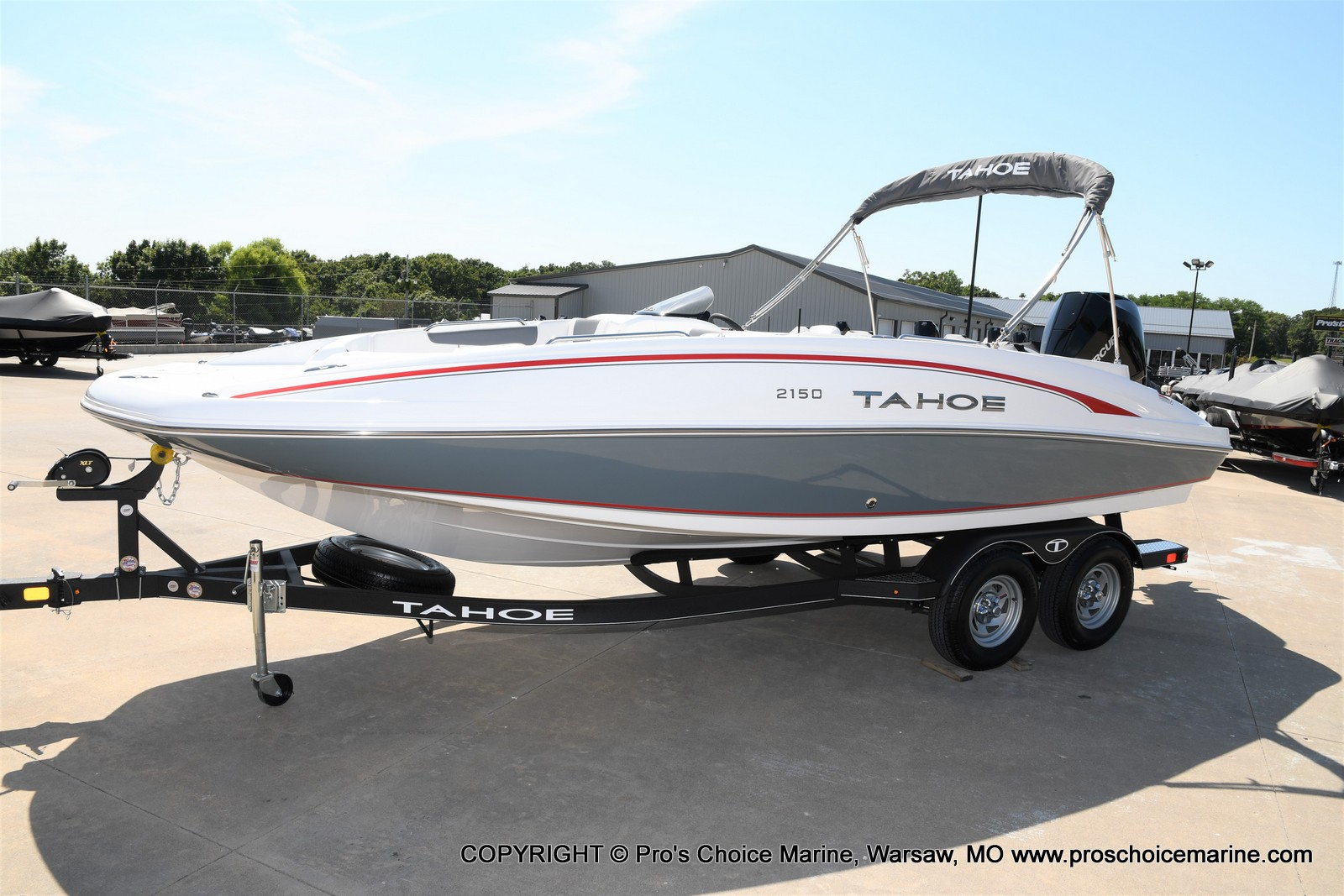 2021 Tahoe boat for sale, model of the boat is 2150 & Image # 37 of 50