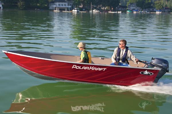 2015 Polar Kraft boat for sale, model of the boat is Dakota V 1460 & Image # 1 of 3