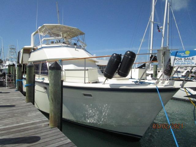 48' Hatteras starboard forward profile1