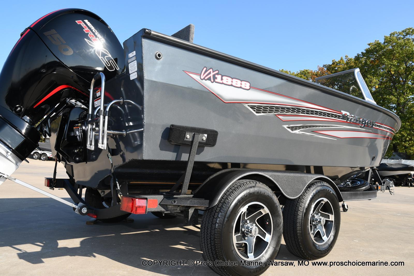 2021 Ranger Boats boat for sale, model of the boat is VX1888 WT w/150HP Pro-XS 4 Stroke & Image # 25 of 50