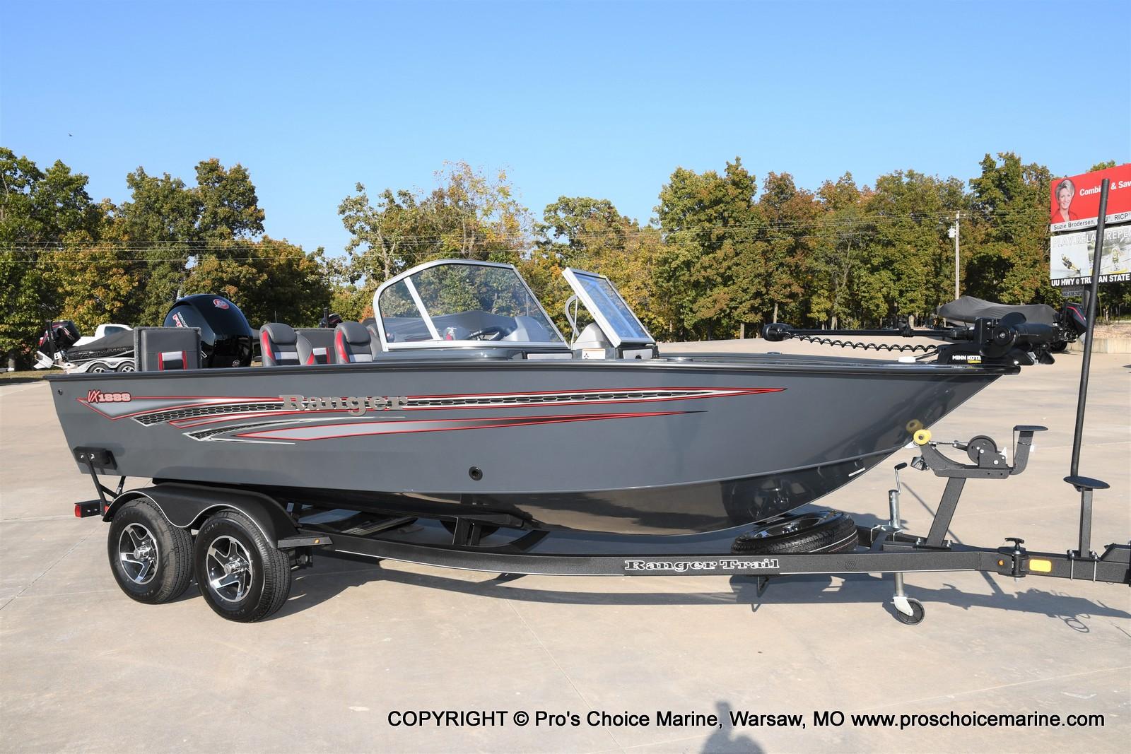 2021 Ranger Boats boat for sale, model of the boat is VX1888 WT w/150HP Pro-XS 4 Stroke & Image # 2 of 50