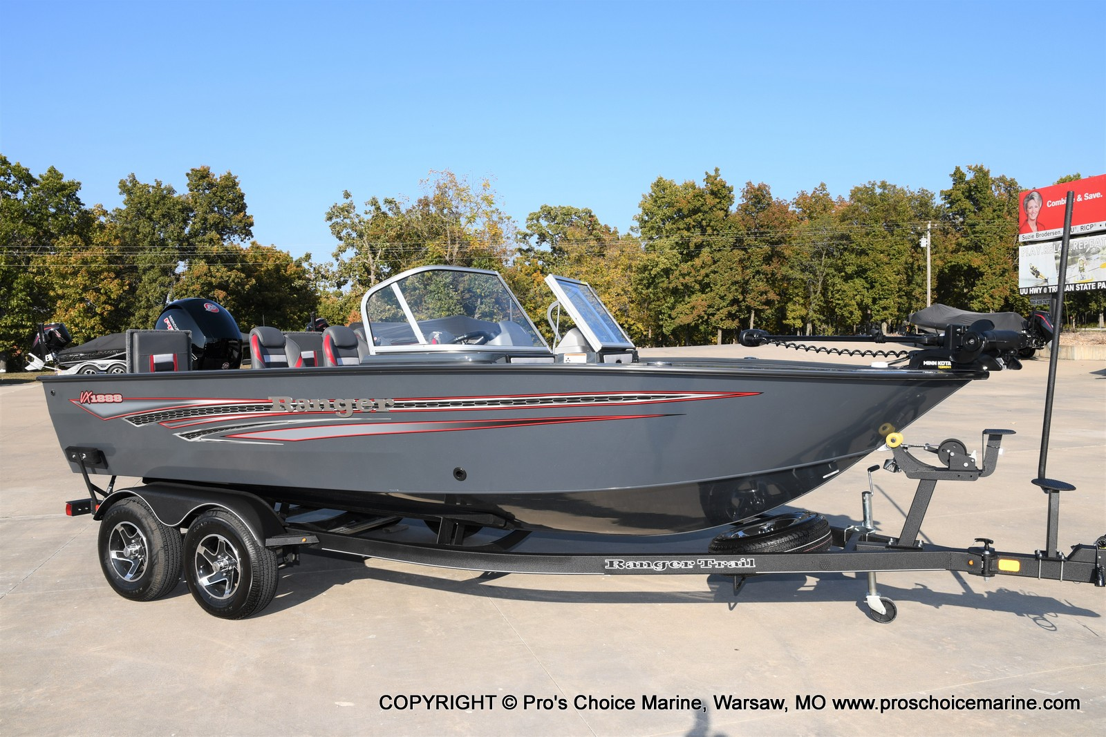 2021 Ranger Boats boat for sale, model of the boat is VX1888 WT w/150HP Pro-XS 4 Stroke & Image # 3 of 50