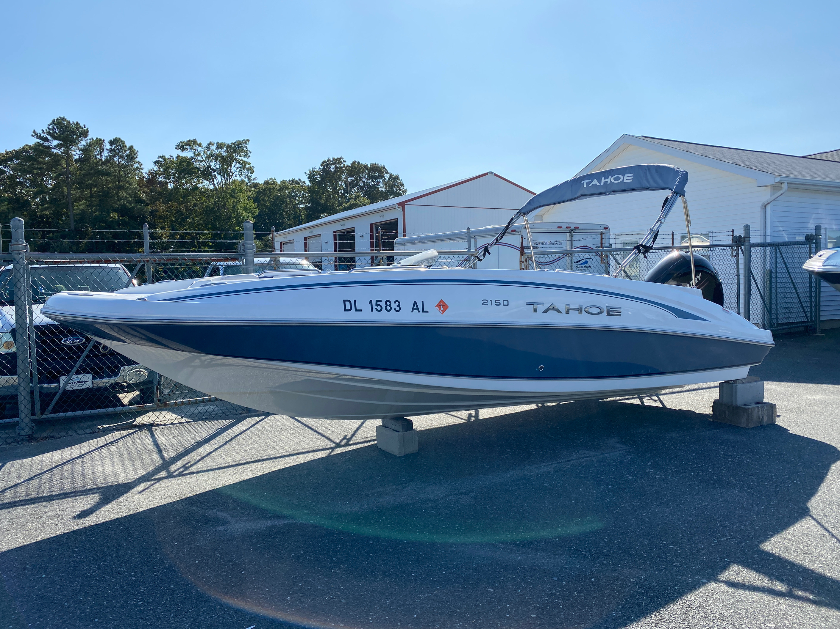 2017 Tahoe boat for sale, model of the boat is 2150 & Image # 1 of 12