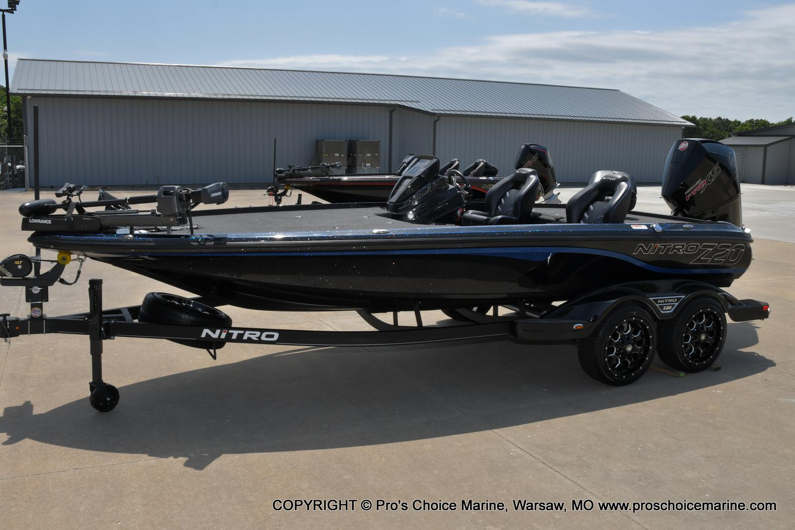 2022 Nitro boat for sale, model of the boat is Z20 PRO PACKAGE & Image # 6 of 50