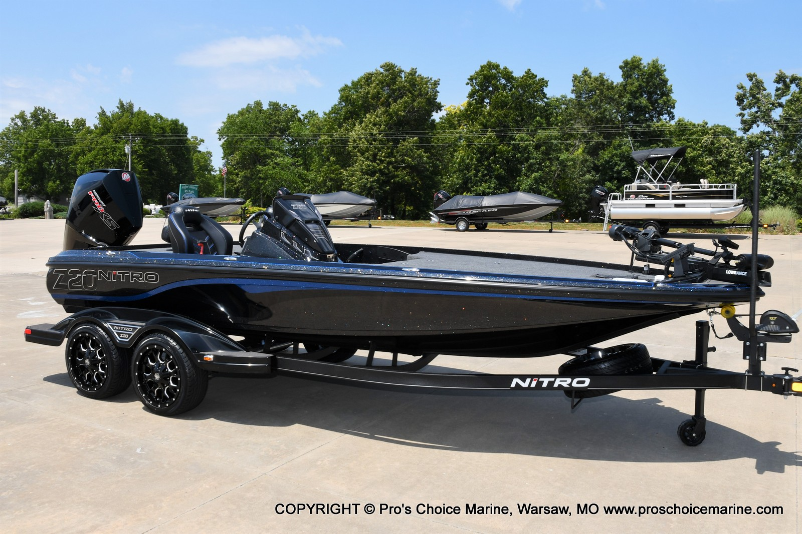 2022 Nitro boat for sale, model of the boat is Z20 PRO PACKAGE & Image # 27 of 50