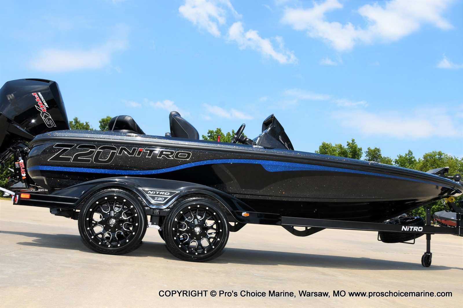 2022 Nitro boat for sale, model of the boat is Z20 PRO PACKAGE & Image # 3 of 50