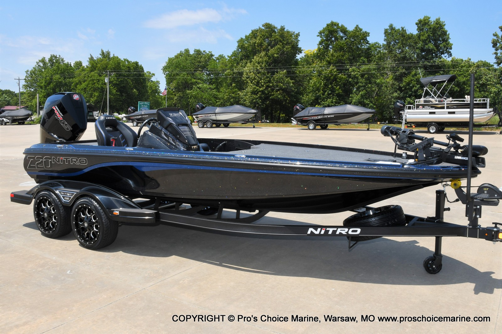 2022 Nitro boat for sale, model of the boat is Z20 PRO PACKAGE & Image # 39 of 50