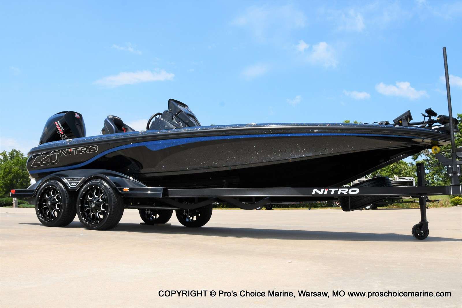2022 Nitro boat for sale, model of the boat is Z20 PRO PACKAGE & Image # 40 of 50