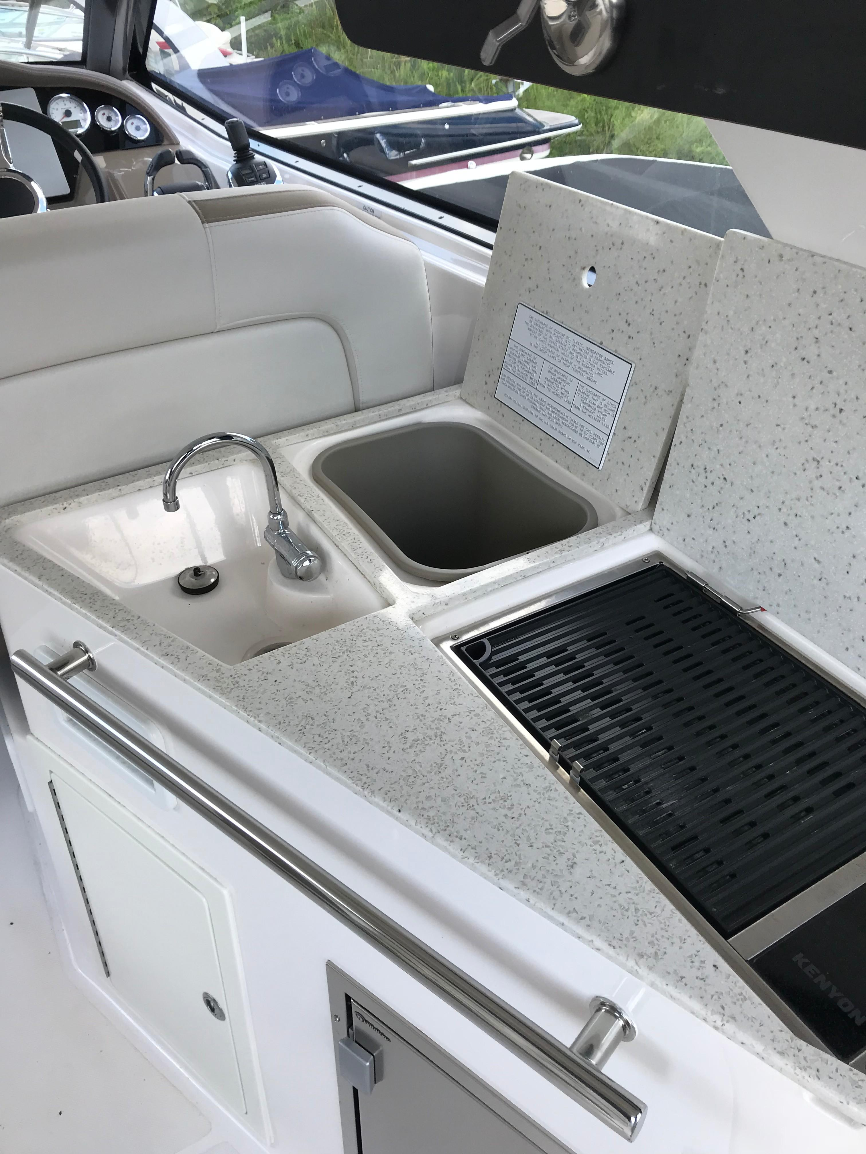Regal 35 Sport Coupe - Wet Bar/Corian Top/Trash/Sink/Grill/Refrigerator